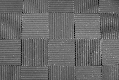 """96 PACK Soundproofing Acoustic Studio Foam - Wedge Style Panels 12""""x12""""x1"""" Tiles"""