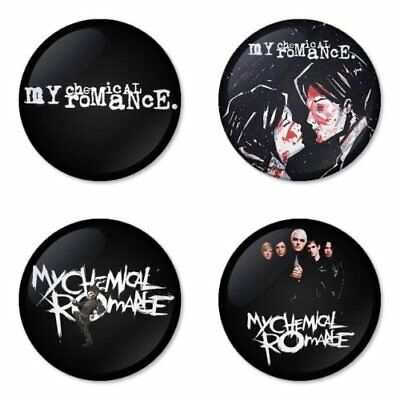 My Chemical Romance, B - 4 chapas, pin, badge, button