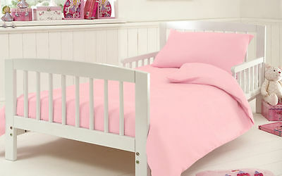 100% Luxury Egyptian Cotton Baby Cot bed, Bedding Duvet Cover with 1 Pillow case