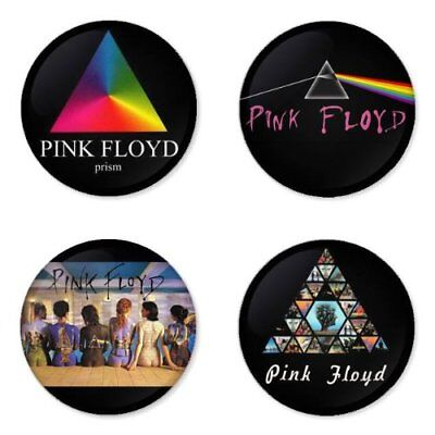 Pink Floyd, B - 4 chapas, pin, badge, button