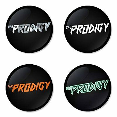 The Prodigy, B - 4 chapas, pin, badge, button