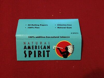Natural American Spirit Cigarette Rolling Papers (50) New Discontinued Rare