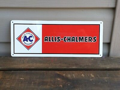 ALLIS - CHALMERS AC Metal sign Farming EQUIPMENT TRACTORS PARTS 5x12 50077