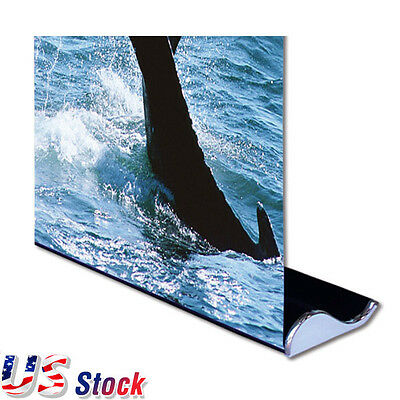 """USA - 2pcs* 33"""" W x 79"""" H Whale Shape Roll Up Banner Stand Booth Display Stand"""