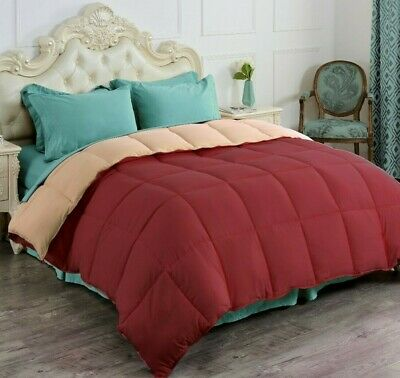 Goose Down Alternative Reversible Comforter Premium Quality