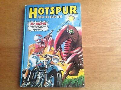 Hotspur Book For Boys 1987 Excellent Condition
