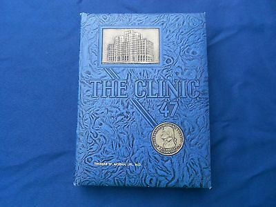 1947 The Clinic Jefferson Medical College Yearbook Thomas Wesley Moran Jr. MD