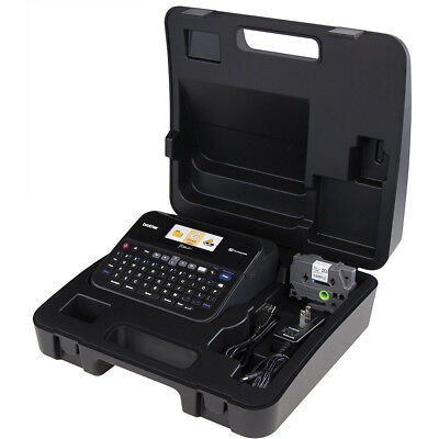 Brother PC-Connectable Label Maker with Color Display and Carry Case - PT-D600VP