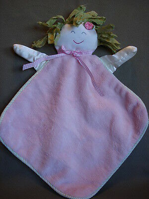 N37 Infant Baby Nursery Smiling Face Security Blanket Home Decor