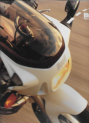 1995 Buell Deluxe Motorcycle Brochure  S2-Thunderbolt Nos