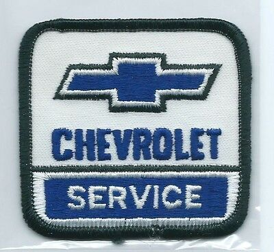 Chevrolet Service employee patch 2-5/8 X 2-3/4 #2305