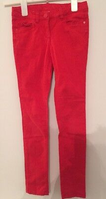 Next Red Jeans Girls Age 10 Years