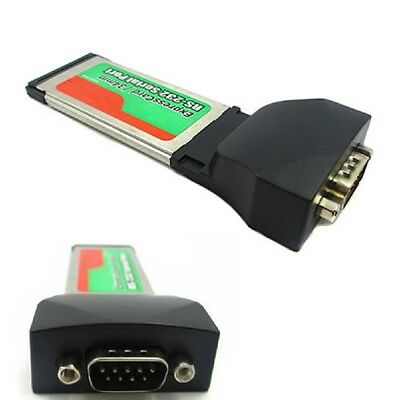 RS232 Serial Port to Express Card 34mm Adapter Express Card Laptop Notebook Pop