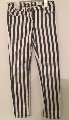 Johnie b Striped Jeans Size 24r Girls Age 10 Years