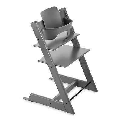 Stokke Tripp Trapp High Chair & Baby Set - Storm Grey - READ - A10