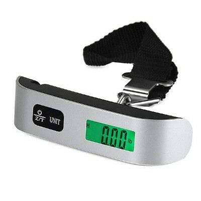 50kg/10g Portable LCD Digital Hanging Luggage Scale Travel Electronic Pop