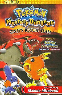 Pokemon mystery dungeon:Ginji's rescue team paperback book