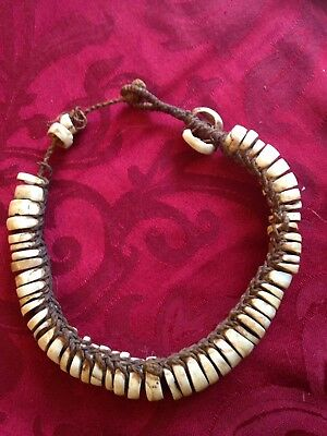 ~~Rare Antique African Tribal Shell Braided Necklace~~