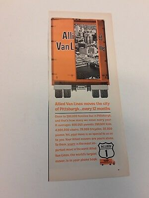 1965 Allied Van Lines - Moving Company - Vintage Original Ads (2)