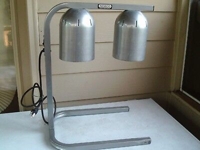 Nemco 6000- A2 Freestanding Food Warmer Heat Lamp 2 Bulb