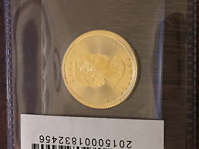 2017 Canada $10 1/4 Oz Gold Maple Leaf (Sealed in Mint Plastic)