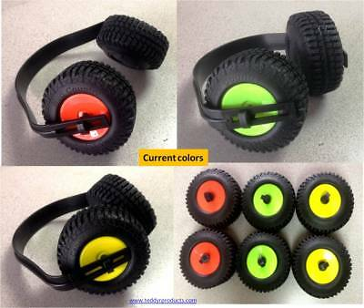 Earmuffs Monster Truck Jeep style mini Tire Hearing Protection Kids Adults RC