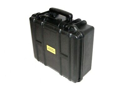 Black ArmourCase military travel hard case with foam equiv. Pelican ™ 1550 case