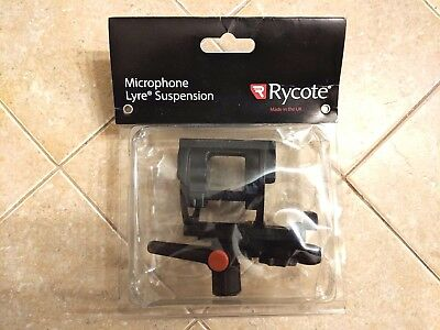 Rycote InVision Video Hot Shoe Microphone Suspension - Lyre Shockmount