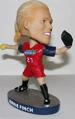 Jennie Finch Bobblehead Kalamazoo Growlers Rare Sga Nib