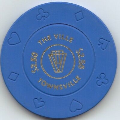 The Ville Casino $2.50 Chip - Townsville Australia