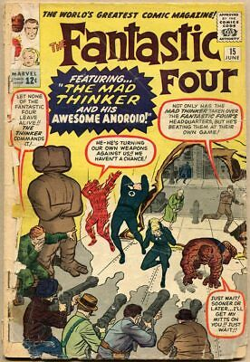 Fantastic Four #15 - PR - 1st Appearance Of The Mad Thinker