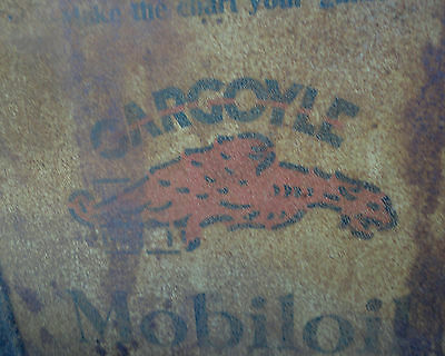 Vintage GARGOYLE 5 Gallon MobilOil B Can- Local Pick/Up-Old Petroliana Collector