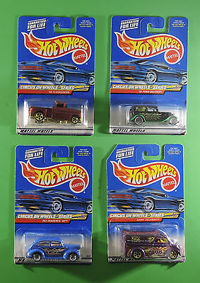 Hot Wheels Circus on Wheels Series - Complete Set