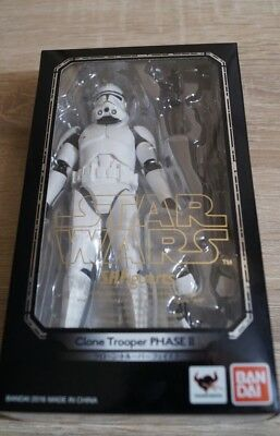 NEU! S.H. Figuarts Clone Trooper Phase 2 Star Wars