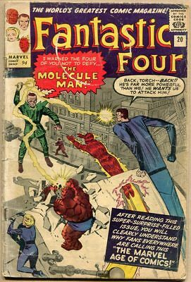 Fantastic Four #20 - G- - 1st Appearance Of Molecule Man