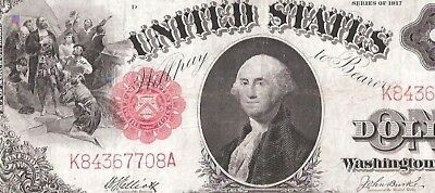 1917 $1 Legal Tender Note
