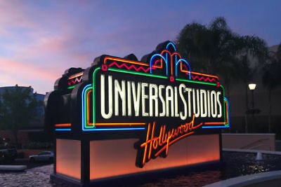 TWO Universal Studios Hollywood Adult Electronic Tickets