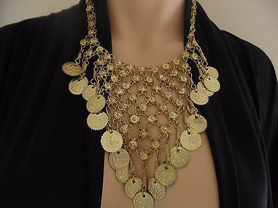 Belly Dancing Necklace, Wicca, Gypsy Tribal, Boho Bohemian Accessories Costume