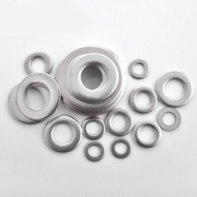 M2-M24 Penny Repair Washers Mudguard Washers A4 Marine Grade 316 Stainless Steel