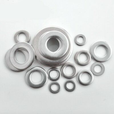 M2-M24 Repair Plain Washer Flat Washers A4 Marine Grade 316 Stainless Steel