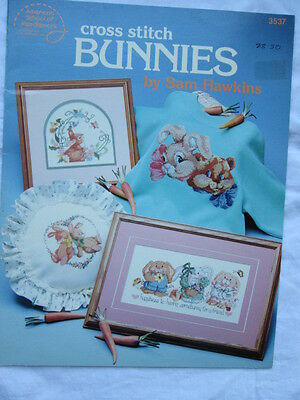 Cross Stitch charts  'Bunnies' by Sam Hawkins