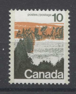 Canada #594viii 10c Caricature Type 2, GT-2 OP-2 Paper Type 3 Plate 2 VF-75 NH