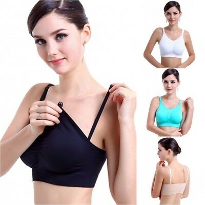 Women Full Coverage Nursing Maternity Pregnant Breastfeeding Bra Underwear Tops