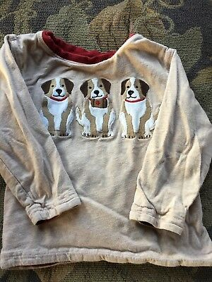 Gymboree Long Sleeve Shirt, Puppies, 2T