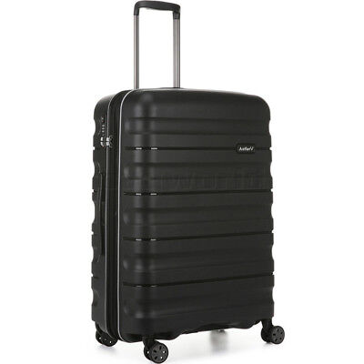 Antler Juno 2 Medium 68cm Hardside Suitcase Black 42216