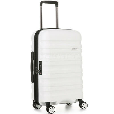 Antler Juno 2 Small/Cabin 56cm Hardside Suitcase White 42219