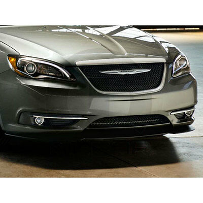 2011-2014 Chrysler 200 Front Front Bumper Fascia Lower Chin Spoiler Air Dam OEM
