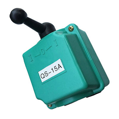 7.0KW 15A Electrical Practical Durable Front Reverse Switch Motor Switch