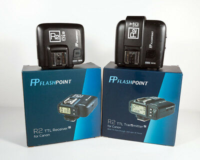 Flashpoint R2 TTL Transmitter & Receiver for Canon