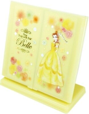 Beauty and the Beast Belle  Desk Top Three Sided Mirror Disney Japan
